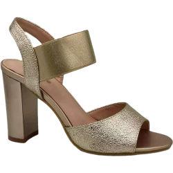 Saco elástico de alta venda Fashion com design de verão com boca de peixe Sandálias Lady Shoes