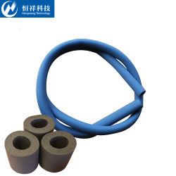De rubber Isolatie van het Schuim met het Niet-klevende Materiaal van de Isolatie van de Hitte van het Blad van Buizen Rubber