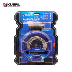 도매점 오디오 서브우퍼 전원 케이블 Hot 6/8/10ga 자동차 앰프 배선 키트