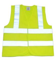広州の蛍光薄緑の機密保護の安全ベストのジャケット