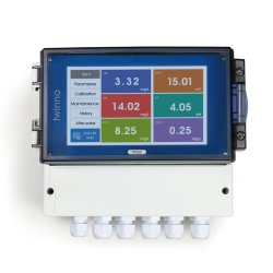 Multi-parameter water Quality Monitoring System pH redox MLSS DO TDS FCL O3 Flow NO3-N NH3-N CZV chlorofyl blauwgroene algen ISE Concentratie in China