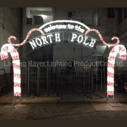 ウェルカムガーデンクリスマスシーズン屋外用モチーフライト LED アーチ