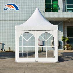 خيام باغودا من الألومنيوم العربي 3×3 م بيضاء مخصصة للمناسبات الخارجية