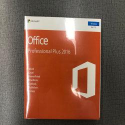 DVD 포장 본래 마이크로소프트 소프트웨어 사무실 2016년 의 MS 오피스 2016 디지털 키 플러스 직업 100% 유용한 사무실 2016