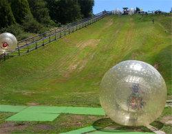 Terres Vanace boule de bowling Zorb gonflable en PVC