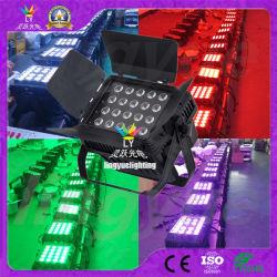 Imperméable IP65 20x15W RGBWA 5en1 fer plat LED Témoin CAN