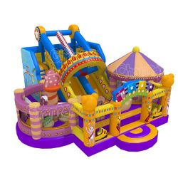 Conception originale Parc d'Attractions gonflables gonflables pour la vente de terrain de jeux de cirque