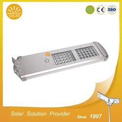 모션 센서가 장착된 새로운 특허 받은 유럽 표준 20W 30W 40W 올인원 통합형 태양광 스트리트 라이트