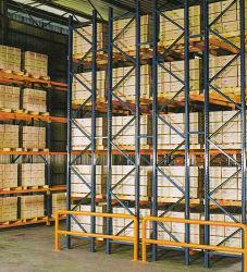 Entrepôt de stockage profond double Type de faisceau du système de rayonnage