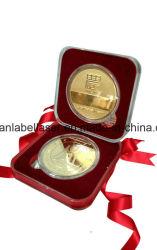 Custom 3D-рельефным башни сувенирные медали, металлической задача монеты и медали