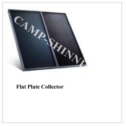 블랙 크롬 흡수재 코팅이 된 플랫 플레이트 솔라 수집기 태양열 온수 히터 시스템