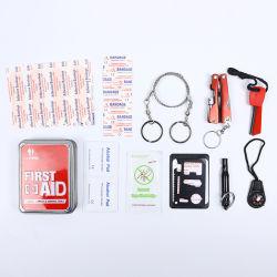 의료 기기 붕대 비상사태 의학 악대 응급조치 상자