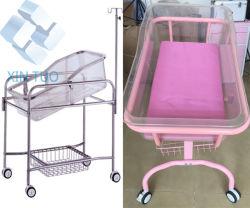 Prix de vente directe en usine en acier inoxydable haut de l'hôpital poussette de bébé