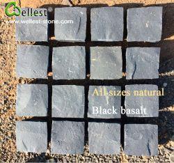 De zwarte Steen van de Prijs van de Fabriek van de Straatsteen van de Weg van de Steen van de Kubus van het Basalt Natuurlijke Zwarte