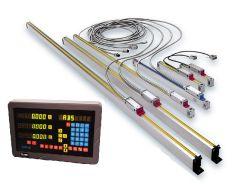Escala lineal de alta precisión para la lectura Digital System (DRO)