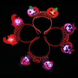 Halloween는 LED 플라스틱 머리띠 당 훈장을 공급한다
