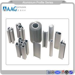 Personalizar aluminio/Perfil de aluminio para la Construcción Industrial y Automática de Componentes