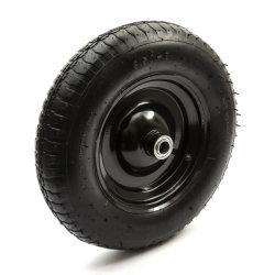 ثقيل - واجب رسم 14 '' معدن عربة يد عجلة مع 3.50-8 [بنيومتيك تر]