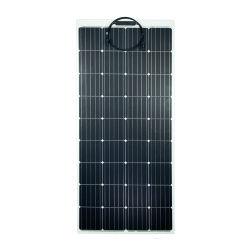 À prova de Estrutura de alumínio 180W 18V Semi flexível painel solar com 36 células
