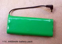 4.4A 12V, batterie au lithium pour les applications des projecteurs et tout autre équipement portable (BB1204)