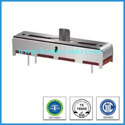 Plättchen-Potenziometer des Großverkauf-20mm linearer des Arbeitsweg-B100k für Audioverstärker