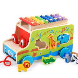 مصنع [ديركت سل] لون موسيقى متعدّد وظيفيّة حيوانيّ [بركسّيون ينسترومنت] مزح سيدة لعبة بالجملة جهاز تربويّ لعبة خشبيّ