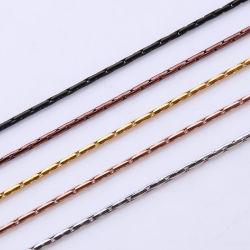Catena rotonda di Boston del cavo di collegare dei monili per il disegno in rilievo del braccialetto della collana