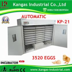 Macchina approvata dello stabilimento d'incubazione del pollo dell'incubatrice dell'uovo dello stabilimento d'incubazione di Digitahi del Ce