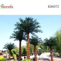 맞춤형 인공 실외 코코 팜 트리 가든 풍경 장식 식물 중국