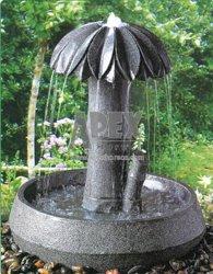Fuente de Piedra de la Decoración de pared de agua Arte