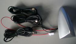 GPS de barbatana de tubarão+TV+FM Função combinada de enroscar a antena do carro