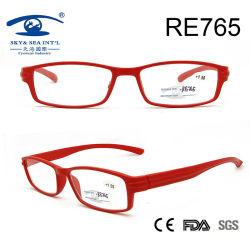 Red Frame Women New Model Custom Reading Glasses (RE765)