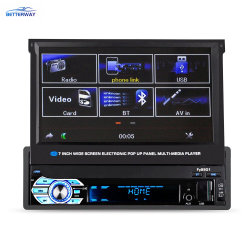 7 Multimedia-Spieler-Autoradio 1 des Zoll-androider Auto-DVD-Spieler-8.1android Bluetooth LÄRM androider GPS
