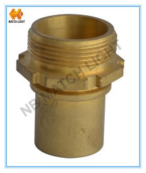 DIN 2817 Brass Male met Smooth Tail DIN Coupling