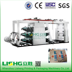 Ytb-61200 6colors High Speed Lamination Paper Flexo Printing Equipment
