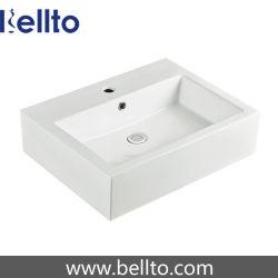 Ванная комната раковины прямоугольный бассейн на прилавок (3330)