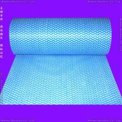 Un super absorbants toutes les fins de non-tissé spunlace Chiffon de rouleau pour salle de bains