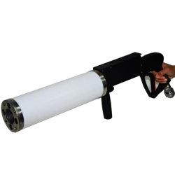Équipement de scène ordinateur de poche Pistolet de CO2 Cannon avec LED RVB