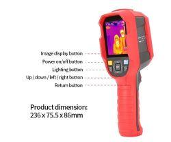 Imageur thermique infrarouge pour la foule de mesure de température rapide