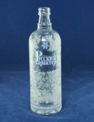 Bottiglia di vetro della vodka di vetro del ghiaccio con Forst