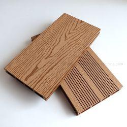 Ausência de substâncias químicas tóxicas Home Garden WPC Flooring plástico compósito de plástico de engenharia em deck pisos de madeira