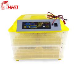 Низкое энергопотребление Hhd 96 яиц инкубатор Hatcher машины