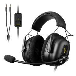 パソコン、電話、xBox 1の任天堂スイッチのための賭博のヘッドセットのヘッドホーンを取り消すSomic G936n 3.5mmバージョン隔離の騒音
