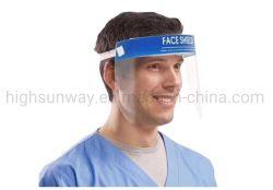 Grosses Gesichtsmaske-transparentes Antivirus-Korona-Virus mustert Mund-Schutz-schützende Schablone, Antinebel-Gesichts-Schild auf auf Anzeigen-Glas-optische Rahmen-Gesichts-Schild
