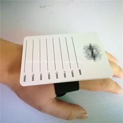 Extensions de Cils de la plaque acrylique support à main avec bracelet de liage