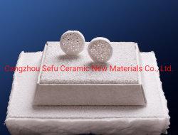 Tonerde-keramischer Schaumgummi-Filter verwendet in der Luftfahrtindustrie