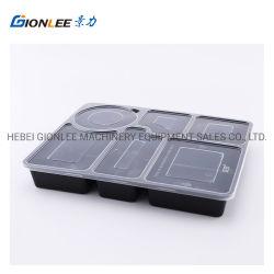 Comida hermético contentor Compartimento descartáveis Lunch Box
