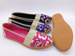 Novo Estilo de injeção de Mulheres Dança Casual sapatos de lona (PSF7905-8)