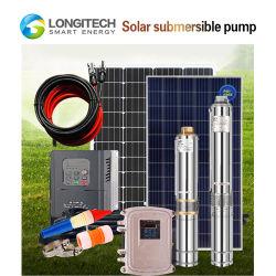 농장 좋은 96V DC 시추공 잠수할 수 있는 태양 에너지 수도 펌프