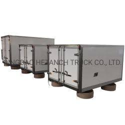 El FRP carretilla carretilla sandwich de fibra de vidrio cuerpo // Cuerpo Cuerpo camión frigorífico PU